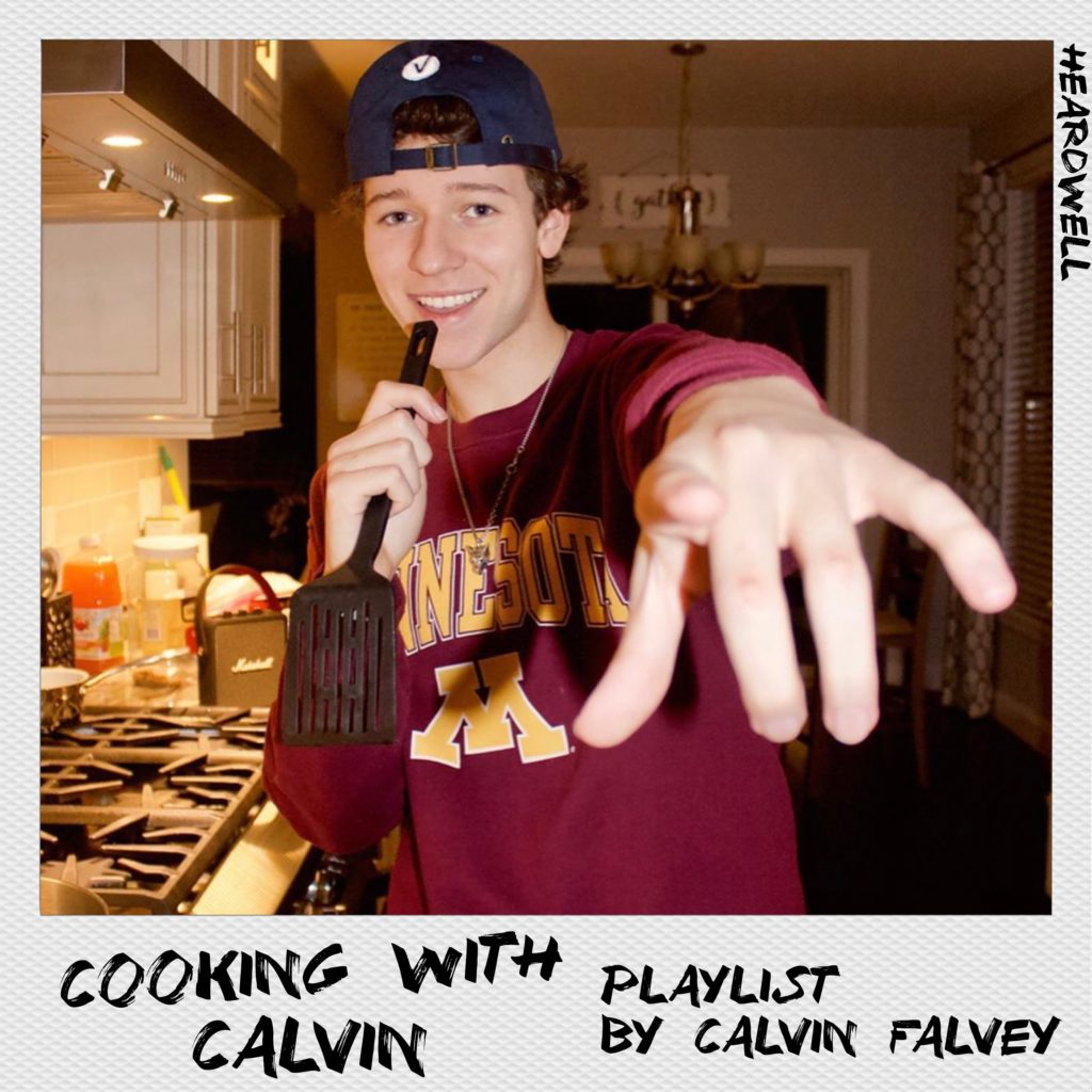 Cooking with Calvin